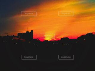 夕日の写真・画像素材[542365]