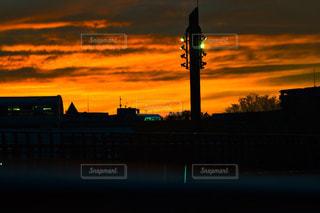 夕日の写真・画像素材[542376]