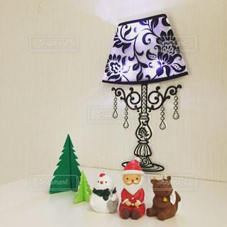 インテリア,クリスマス,サンタクロース,ディスプレイ,壁ライト
