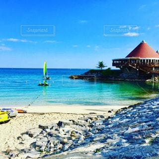 プライベートビーチの写真・画像素材[1015573]