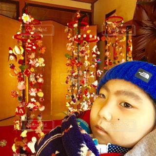 帽子をかぶった小さな男の子 - No.1038686