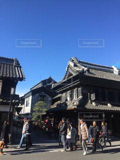 小江戸川越の蔵造りの町並みの写真・画像素材[1107136]