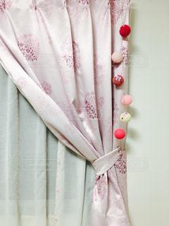 ピンクと白の花の写真・画像素材[843671]