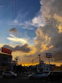 街の空の写真・画像素材[1452137]