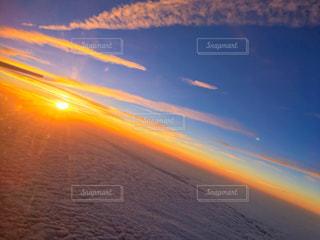 雲海 日没の写真・画像素材[1452312]