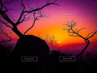自然,空,秋,夜空,夕焼け,山,登山,旅,福岡,ライフスタイル,秋空,太宰府,宝満山