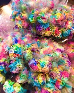 色とりどりの花のグループの写真・画像素材[885494]