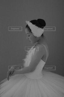 バレリーナの少女の写真・画像素材[1015851]