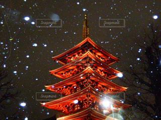 夜の浅草の写真・画像素材[1793997]