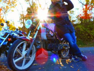 秋,冬,紅葉,雪,太陽,綺麗,バイク,男,男子,光,高校生,ポートレート,高校,彼氏,男性写真