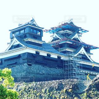 風景,城,熊本,熊本城,九州,二の丸広場