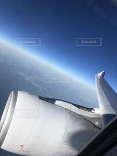 海,空,雲,飛行機,エンジン,空気,ジェット