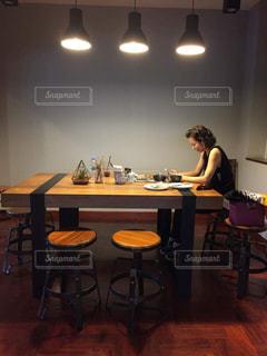 カフェの写真・画像素材[605508]