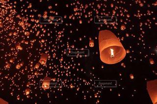 タイ、チェンマイのコムローイの写真・画像素材[813733]