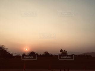 太陽,夕焼け,夕暮れ,光,タイ,夕陽