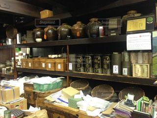 新京極のお茶屋さんの写真・画像素材[916682]