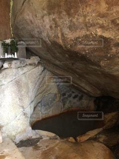 岩風呂の写真・画像素材[1008069]