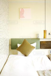 インテリア ベット クッション 家具 照明 ホテル 緑