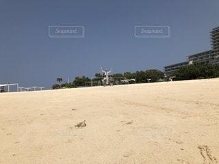 砂浜のビーチの写真・画像素材[1861347]