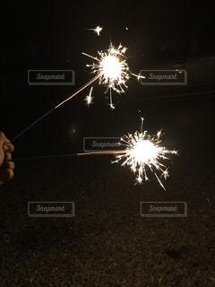手持ち花火の写真・画像素材[1312647]