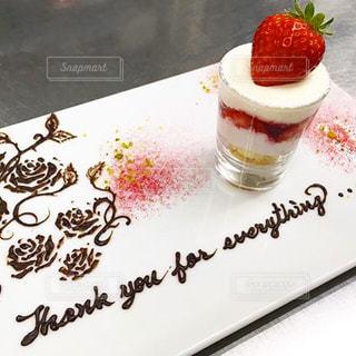 テーブルの上のケーキ - No.800249