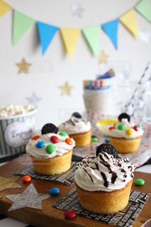 スイーツ,カラフル,カップケーキ,パーティー,手作りお菓子