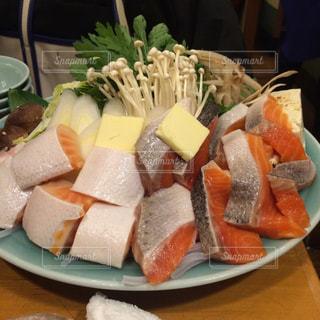 冬,鍋,料理,鮭,居酒屋,具材,石狩鍋