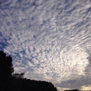 空,夕日,雲,夕暮れ,里山