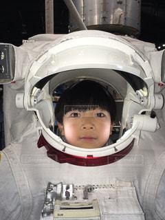 初めての宇宙服♫の写真・画像素材[1282583]
