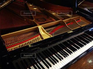 ピアノの鍵盤の写真・画像素材[802015]