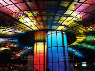 美麗島駅。世界で最も美しい地下鉄に選ばれた駅。の写真・画像素材[927437]