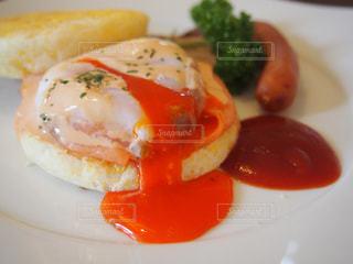 大好きな朝食。の写真・画像素材[1148180]