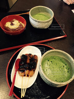 京都,日本,お茶,和,だんご,日本茶,わらび餅