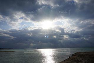 海,雲,青空,島,沖縄,旅行