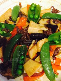 肉と野菜の料理の写真・画像素材[1656557]