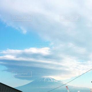 富士山と雲の写真・画像素材[2430750]