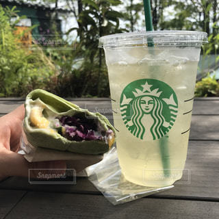 夏,渋谷,american,tea,starbacks coffe,さっぱり飲みやすい,ライムティー,グリーンアップルを使ったトルティーヤ