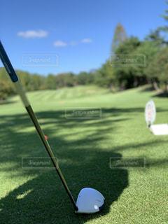 風景,スポーツ,屋外,ゴルフ,運動,グリーン,秋晴れ,芝,ドライバー,スポーツの秋
