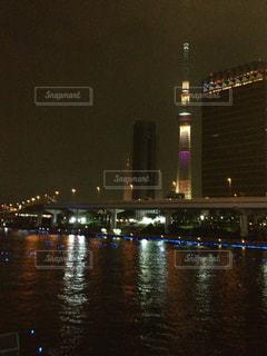 夜景の写真・画像素材[568696]