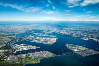 名古屋港全景の写真・画像素材[1036228]