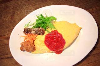 カフェ,cafe,オムライス,a rice omelet