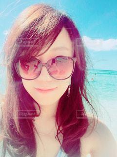 海,サングラス,ビーチ,水着,ハワイ,Hawaii