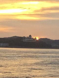 自然,風景,空,夕日,屋外,雲,夕暮れ,水面,海岸,田平漁港
