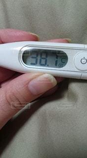 辛い,体温計,高熱,病院,風邪,医療,扁桃炎,持病