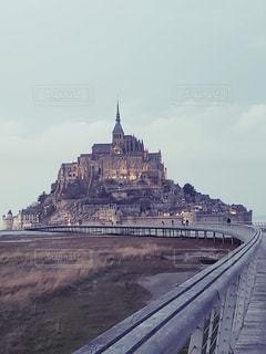 橋,海外,景色,観光,建造物,旅行,フランス,モンサンミッシェル