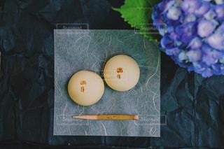 京都 阿闍梨餅本舗の和菓子 「満月」の写真・画像素材[1042127]