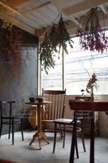 カフェ,花,ランチ,ドライフラワー,テーブル,オシャレ,家具,お茶,cafe,お洒落,イス,フォトジェニック