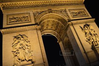 凱旋門の写真・画像素材[597626]