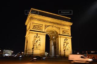 凱旋門の写真・画像素材[597630]