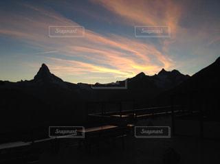 海外,ヨーロッパ,山,観光,旅,マッターホルン,スイス,海外旅行,夕暮,ツェルマット